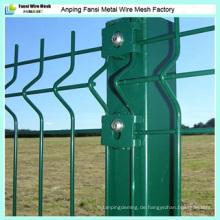 V Mesh Wire Zaun, Zaun Abdeckung Kunststoff, Hinterhof Metall Zaun