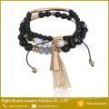 2017 Newest Design Elegant Crystal Bead Bracelet Design For Girls