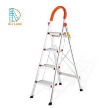 6-ступенчатая алюминиевая свободностоящая бытовая стремянка, легкие складные лестницы