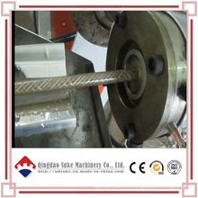 Tubo de fibra de PVC suave que hace la máquina de extrusión