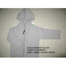 Sudadera con capucha para bebés Cashmere