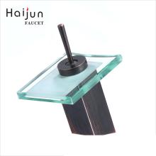 Haijun Super September Purchasing Upc Deck Mounted Bathroom Brass Basin Waterfall Faucet