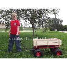 All Terrain Pull Along Red Wagon / Cart / Trolley / Truck