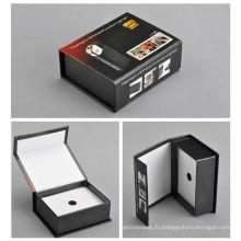 Boîte de papier pleine de boîte de gerbes de corps parfumés par boîte rigide superbe de carton rigide