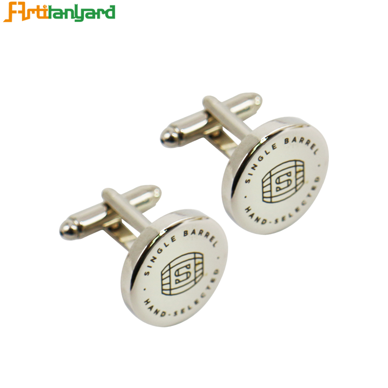 Cufflinks For Men With Synthetic Enamel