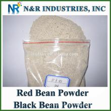 Bonne teneur en haricots rouges ou poudre de haricots noirs 80mesh à 200mesh et stérilisation à la vapeur