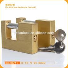 Super boa qualidade de segurança retangulares cadeados