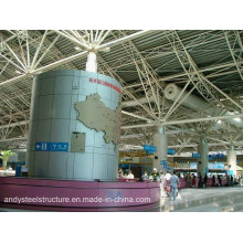 China Supplier Large Span Space Frame Roof for Airport Terminal