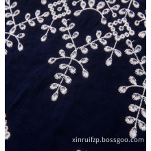 broderie anglaise 100% cotton plain embroidery lace fabric