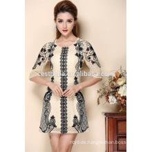 Art und Weisekleid für Frauen elegante späteste Kleidentwürfe gesticktes Kleid