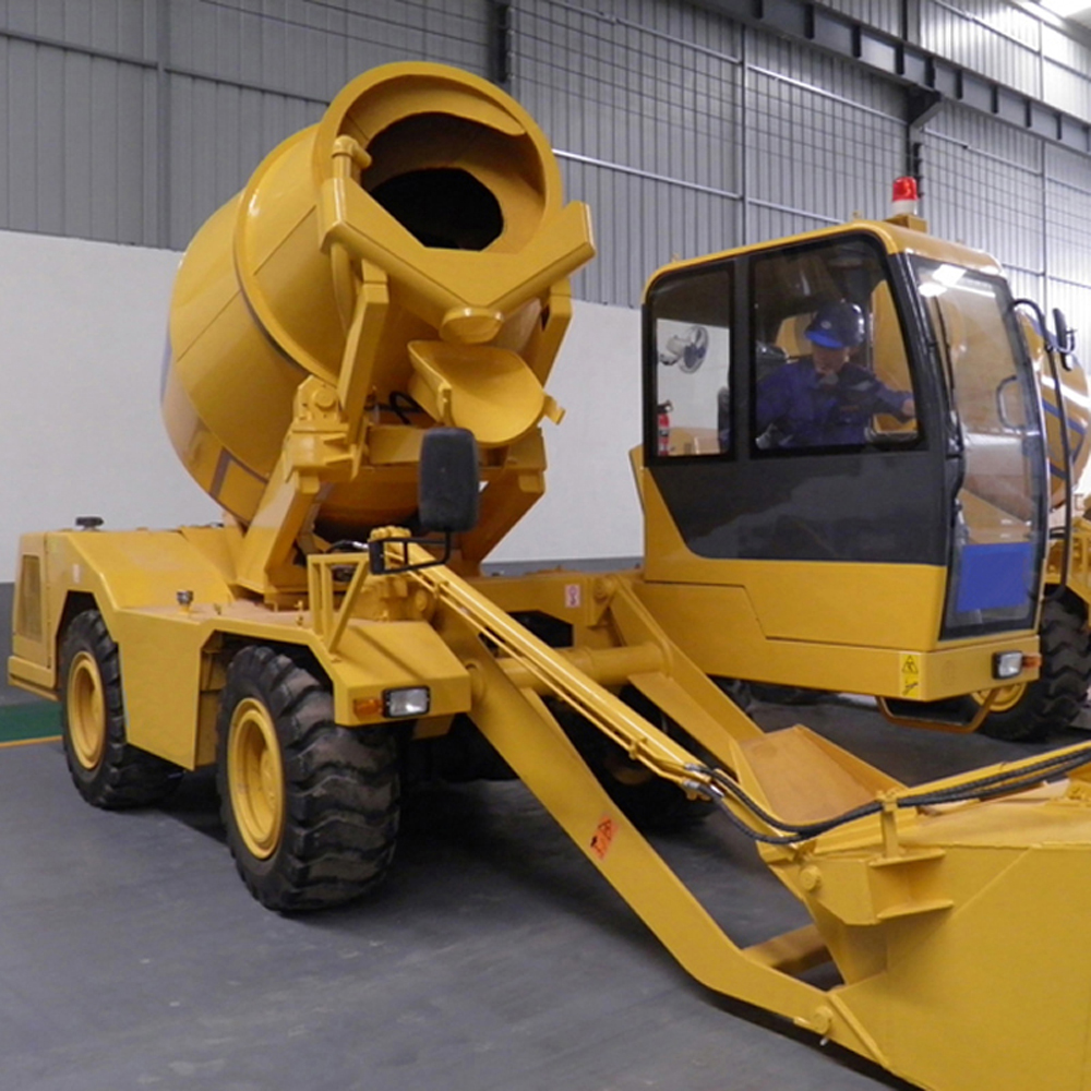 1 5Self Loading Concrete Mixer