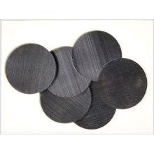 Filtro de tela de alambre negro