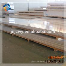 1050 1060 h112 h16 Plaque à carreaux en aluminium 3mm