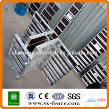 Sistema de formación de hormigón de aluminio