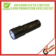 Linterna de LED de alta potencia de aluminio de la venta caliente recargable