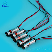 Low Cost Adjustable Focus Line Dot Laser Module 650nm 10mw