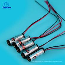 Linha ajustável módulo do foco do baixo custo - módulo 650nm 10mw do laser do ponto