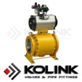 ANSI #Cl150/Cl300/Cl600/Cl900/Cl1500 Top Entry Ball Valve with Gear