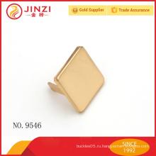 Легкая золотая модная металлическая этикетка