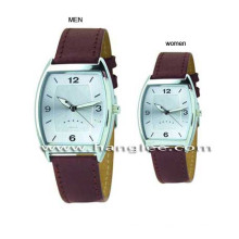 Aço inoxidável de primeira qualidade dois relógios, relógio de quartzo amante 15193
