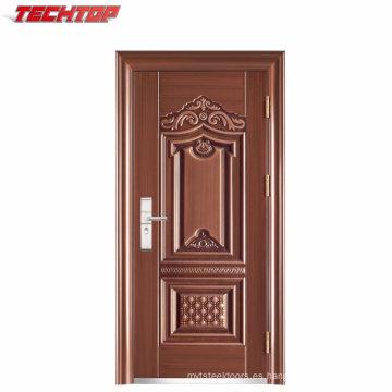 Máquinas TPS-041 que hacen el diseño de la puerta única de la entrada del metal de China