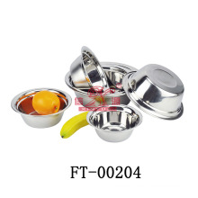 New Design 201 Stainless Steel Soup Basin/ Soup Bowl (FT-00204)