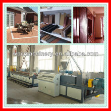 WPC garden fence,plate,flooring,ceiling,wall panel Wood plastic composite machine