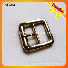 SB04 kundenspezifische antike Messing kleine Schuhpin-Wölbungen 2.5Cm 1 Zoll-Wölbungs-Großhandelsgürtel-Wölbungen