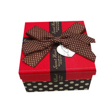 OEM Customized Gift Box with Butterfly Ribbon