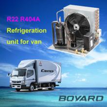 unidade de refrigeração de pequeno de boyang do r404a refrigeração peças r22 para caminhões split unidade condensadora