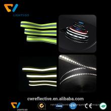 bande réfléchissante d'hivisibilité colorée pour des vêtements de sécurité
