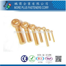 Fabriqué à Taïwan Boulons en laiton P1