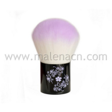 High Quality Kabuki Makeup Brush with Flower Pattern