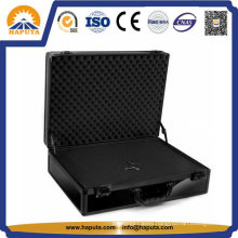 Black Heavy Duty Aluminum Carrying Tool Case (HT-2110)