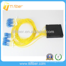 Singlemode 1x16 Fiber Optic Splitter /coupler with SC connector