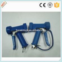 Pistolet de pulvérisation d'eau robuste en laiton bleu
