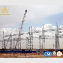 Structures de transmission et de distribution d'acier
