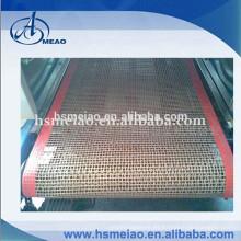 Resistencia al calor Teflon PTFE máquina seca malla de cinta transportadora