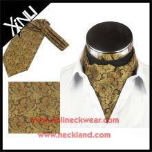 2015 Hommes Nouvelle Mode Imprimé Cravate Cravat Ascot Silk
