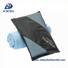 toalha de fitness de microfibra altamente absorvente