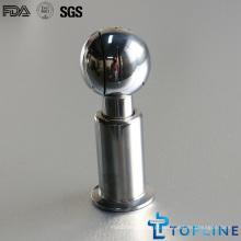 Bola de pulverização rotativa sanitária de aço inoxidável