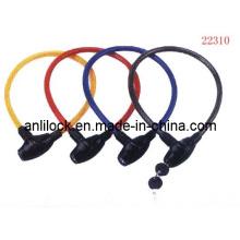 Cerradura de la bicicleta, cerradura del cable (AL-08902)