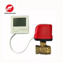 válvula de control de calentador de latón para agua