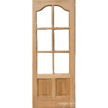 9 Lite Klare Glas Eiche Holz Französisch Tür
