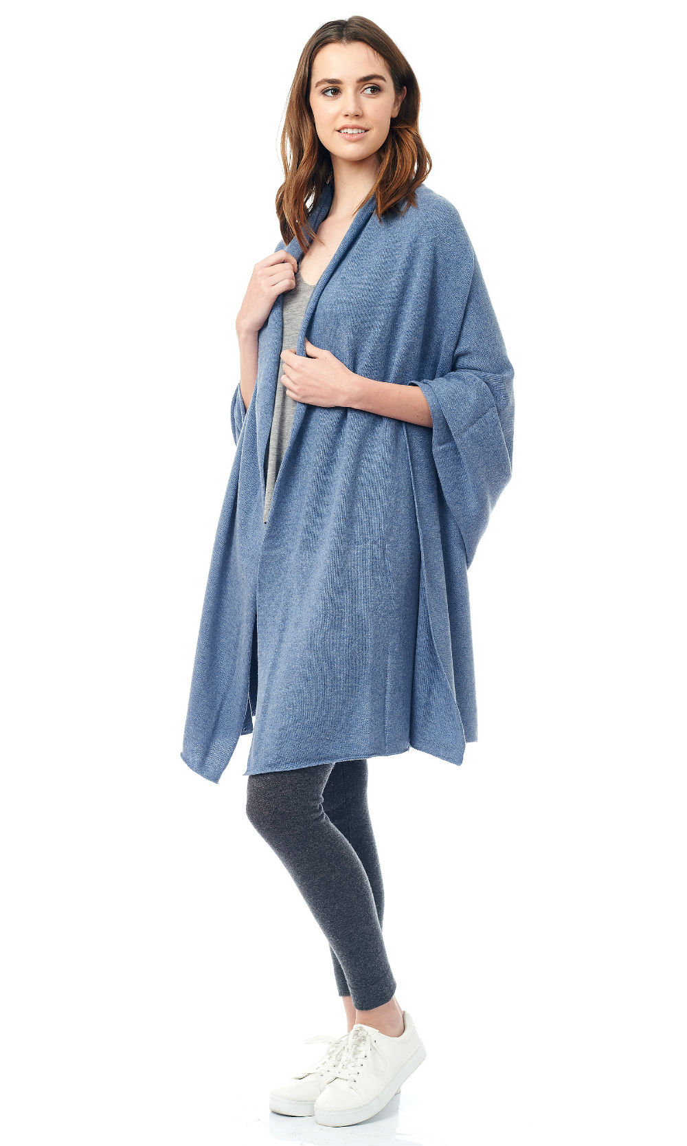 blue jersey knit travel wrap (3)