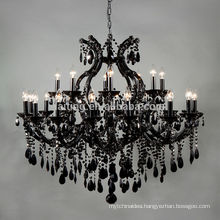 Black maria theresa classical chandelier crystal lighting-85526