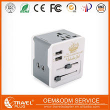 Top10 Best Selling New Fashion Design Travel Adapter com Usb