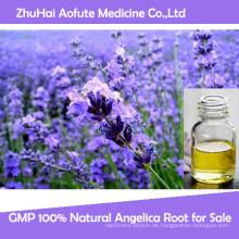 100% reines und organisches Lavendel ätherisches Öl