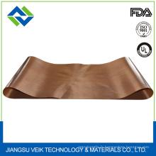 Matériau de mousse de productionPtfe tissu de fibre de verre enduit de téflon