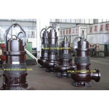 QW Pompe d'eaux usées submersibles sans obstruction